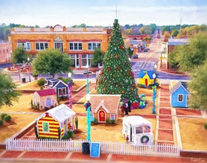 Andalusia kicked off the Christmas season by opening Candyland, the city's annual month-long holiday display celebrating Christmas.