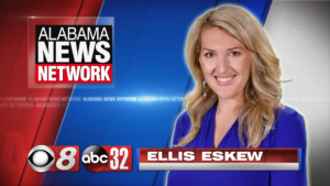 photo of Alabama News Network anchor Ellis Eskew