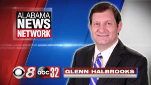 photo of Alabama News Network news director and anchor Glenn Halbrooks
