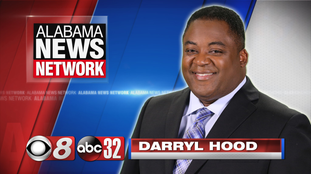 photo of Alabama News Network anchor Darryl Hood