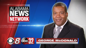 photo of Alabama News Network reporter George McDonald