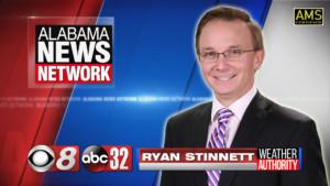 photo of Alabama News Network meteorologist Ryan Stinnett