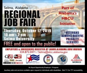 Selma Regional Job Fair @ Selma University