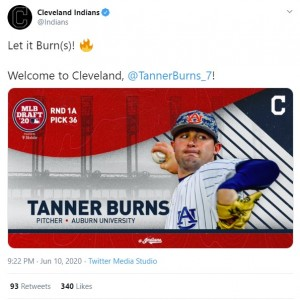 Burns To Cleveland