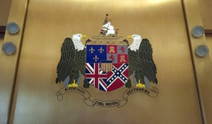 Coat Of Arms Confederate Flag